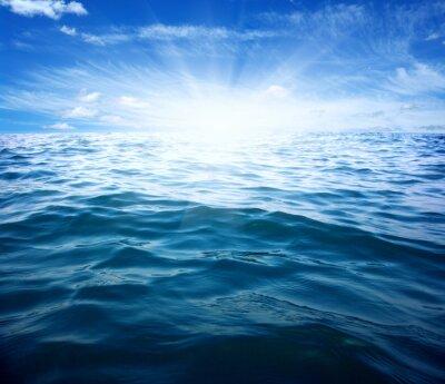 Sticker Blue sea and sun