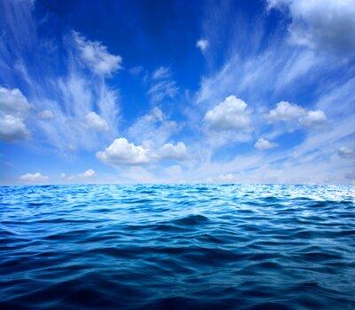 Sticker Blue sea water