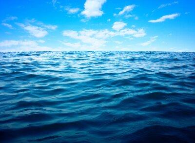 Sticker Blue sea water surface