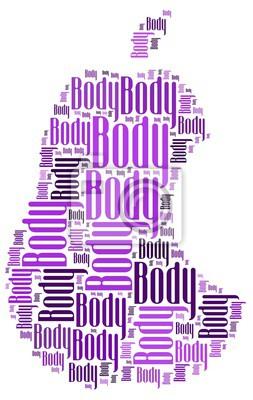 Sticker body