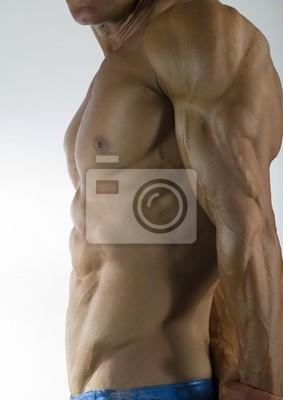 Sticker bodybuilder