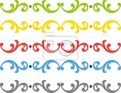Sticker border