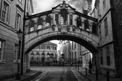 Sticker Bridge of Sighs in Oxford.