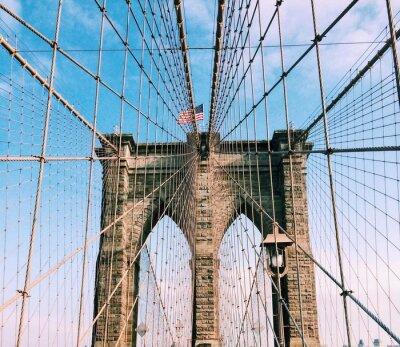 Sticker Brooklyn Bridge