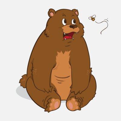 Sticker Brown bear
