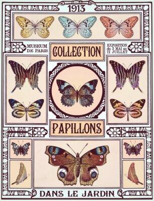 Sticker Butterflies collection