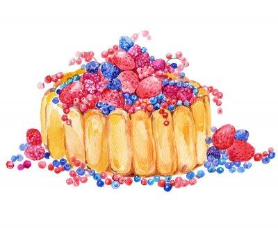 Sticker cake