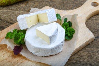Sticker Camembert cheese