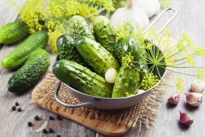 Sticker Canned cucumbers