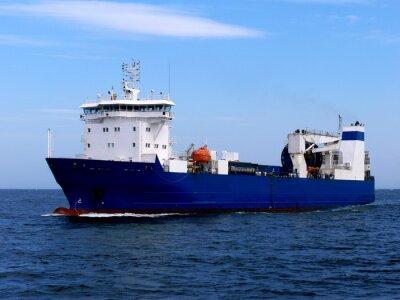Sticker Cargo Ship Ro-Ro