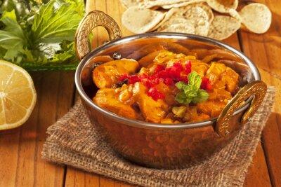 Sticker Chicken Curry