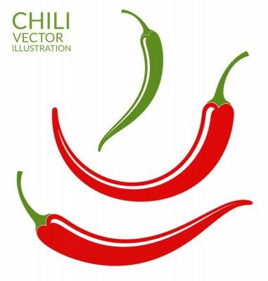 Sticker Chili Pepper