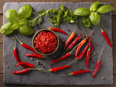 Sticker chili sauce