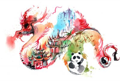 Sticker China