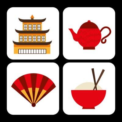 Sticker chinese culture