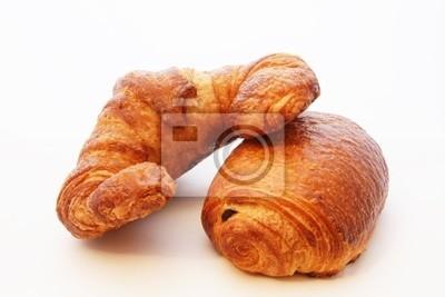 & chocolate croissant