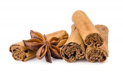 Sticker cinnamon anise