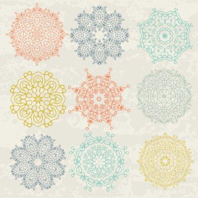 Sticker circular patterns