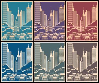 Sticker city streets