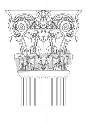 Sticker clasic column