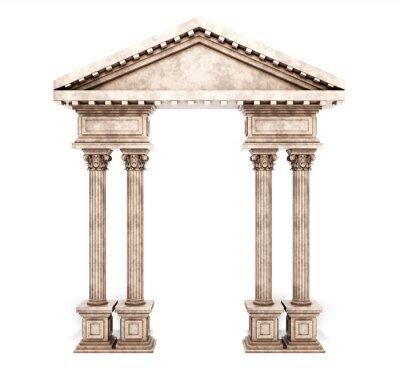 Sticker Classic Corinthian Column Arch.