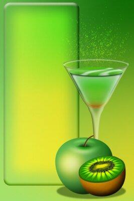Sticker Cocktail Menu-Aperitivo Menu-Aperitif Menu 4