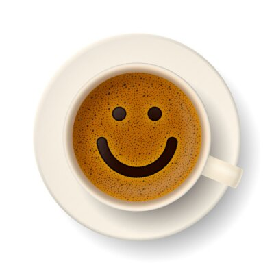 Sticker Coffee cup for good mood