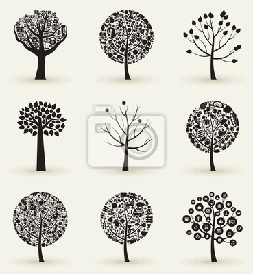 Collection of trees4
