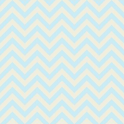 Sticker Colorful Chevron pattern