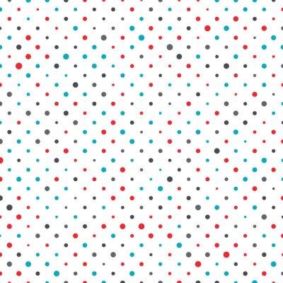 Sticker Colorful dot background