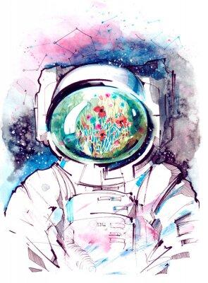 Sticker cosmos