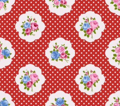 Sticker Cottage chic pattern