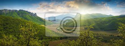 Crimea mountain valley