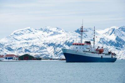 Sticker Cruise ship in Antarctica