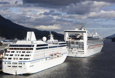Sticker Cruise Vacation in Alaska