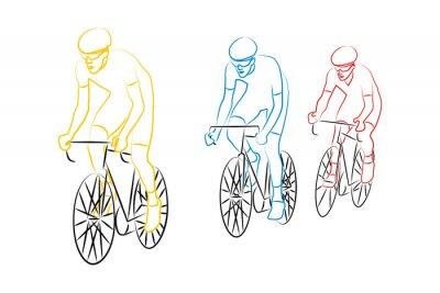 Sticker Cyclisme