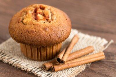 Sticker Delicious apple and cinnamon muffins