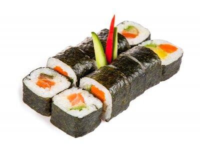 Sticker Delicious sushi pieces