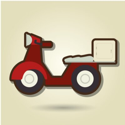 Sticker delivery service design