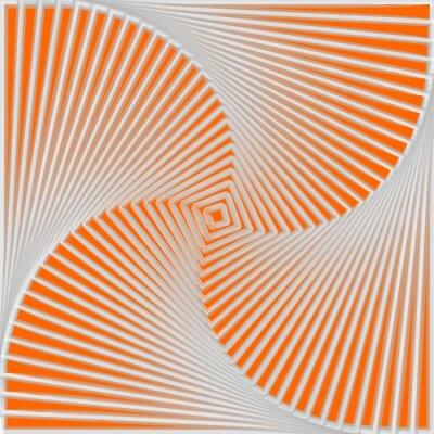 Sticker Design colorful twirl movement illusion background