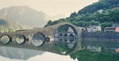 Sticker Devils Bridge Italy