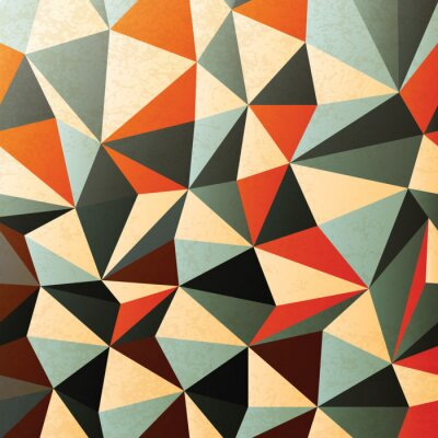 Sticker Diamond shaped pattern. Abstract, vector, EPS10