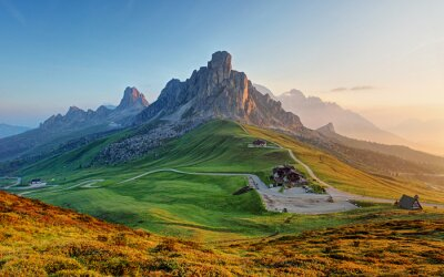 Sticker Dolomites landscape