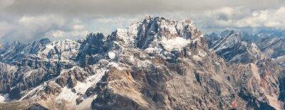 Sticker Dolomites mountain