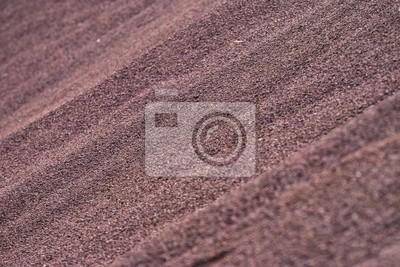 dune de pouzolane rouge