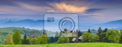 Early Carpathian morning