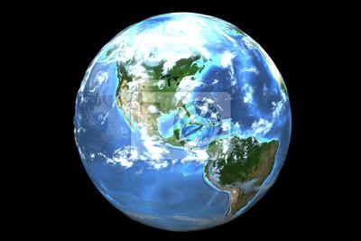 Sticker Earth (3D)