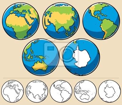 Sticker Earth