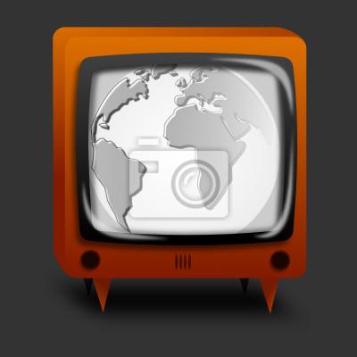 Sticker Earth TV