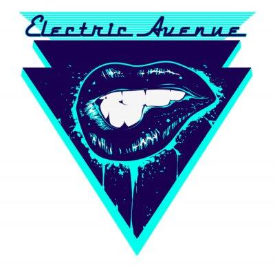 Sticker Electric Avenue